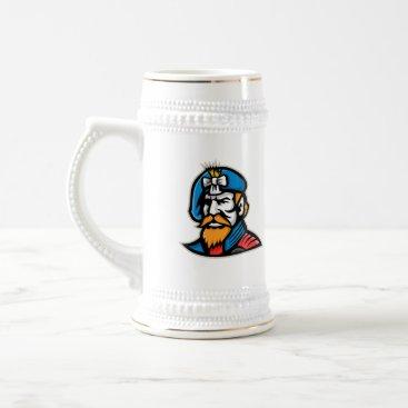 American General Mascot Beer Stein