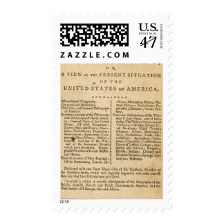 American Geography Postage