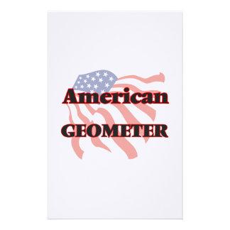 American Geometer Stationery