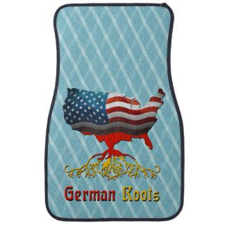 American German Roots Car Floor Mat