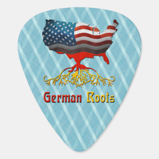 American German Roots Guitar Pick