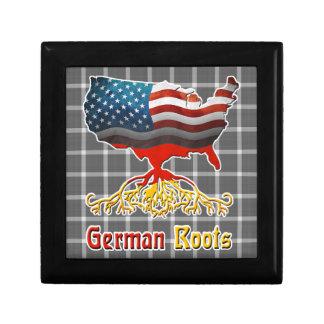 American German Roots Keepsake Box