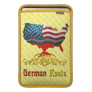American German Roots MacBook Sleeve