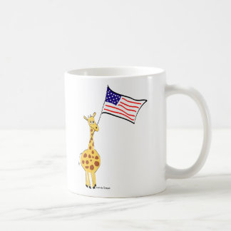 American Giraffe Mugs