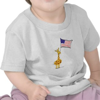 American Giraffe T-shirt shirt
