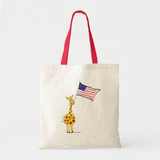 American Giraffe Tote Bag