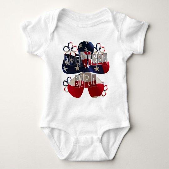American Girl 2 Baby Bodysuit