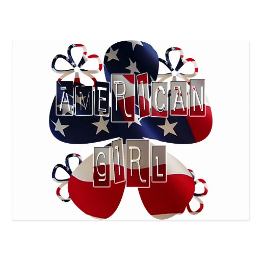 American Girl 2 Postcard