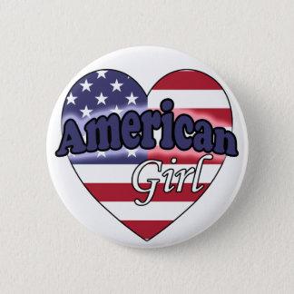 American Girl Button