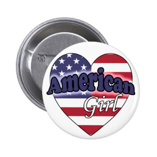 American Girl Pinback Buttons
