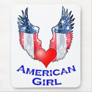 American Girl Mouse Pad