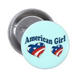 American Girl Pin