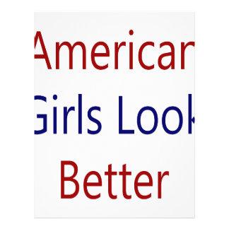 American Girls Look Better Full Color Flyer