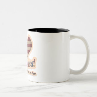 American God Shed His Grace On Thee Patriotic Two-Tone Coffee Mug