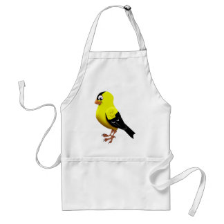 AMERICAN GOLDFINCH ADULT APRON