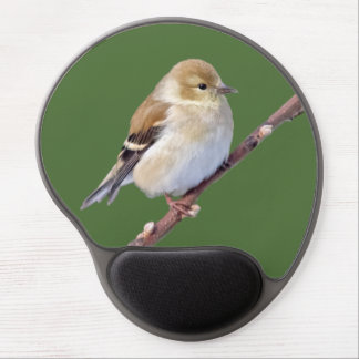 American Goldfinch Gel Mouse Pad