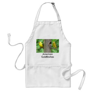 American Goldfinches Apron
