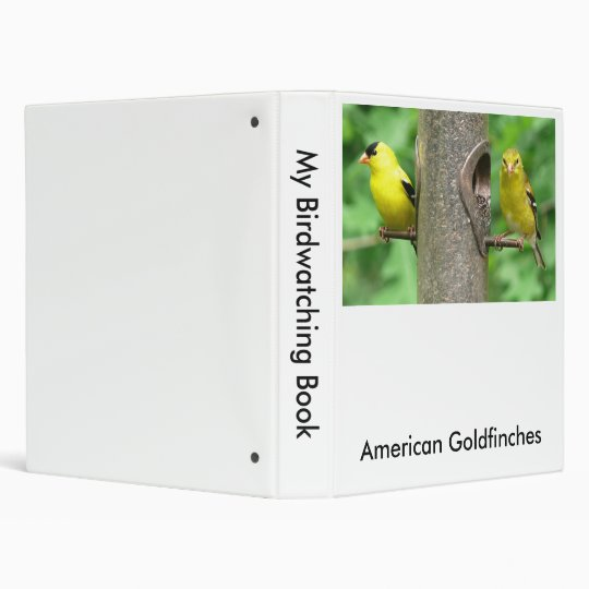 American Goldfinches Binder