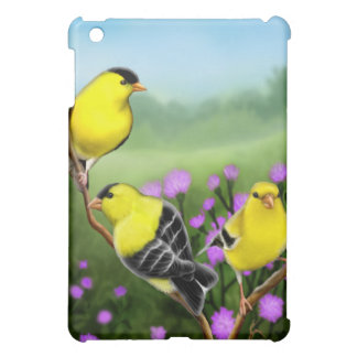 American Goldfinches in Thistles Speck Case iPad Mini Cases
