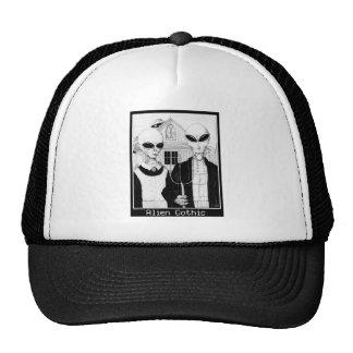 American Gothic, Alien Portraits, Aliens Trucker Hat