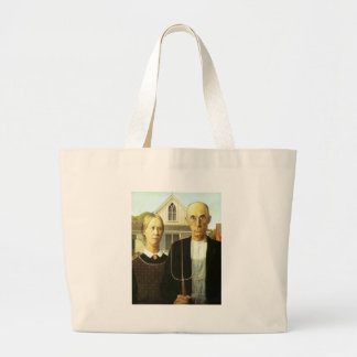 American Gothic Jumbo Tote Bag