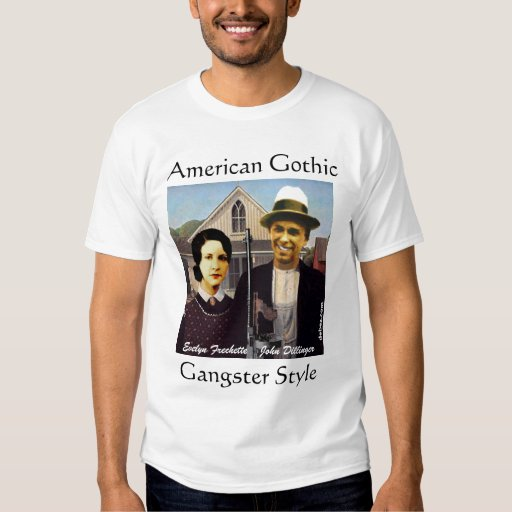 American Gothic Gangster Style Shirt
