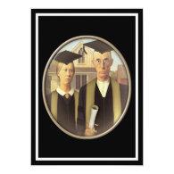 American Gothic Graduate Cameo 5x7 Paper Invitation Card