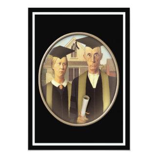 American Gothic Graduate Cameo Card