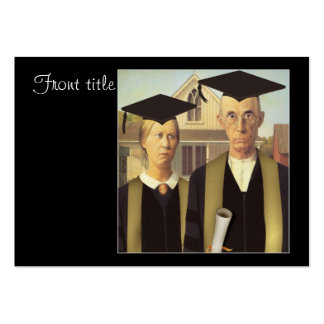 American Gothic Graduation Large Business Cards (Pack Of 100)