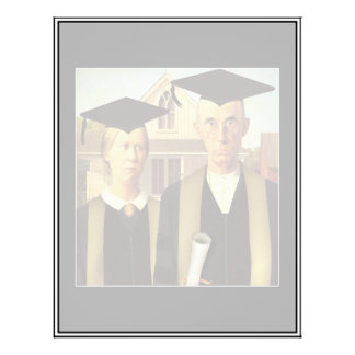 American Gothic Graduation Personalized Flyer