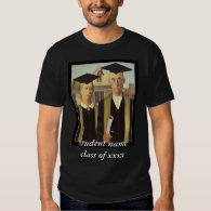 American Gothic Graduation Shirt