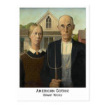 American Gothic, Grant Wood Post Card
