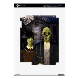 American Gothic Halloween iPad 3 Skin