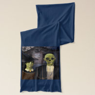 American Gothic Halloween Scarf