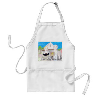 American Gothic--Imagine Adult Apron