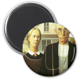 American Gothic Refrigerator Magnets