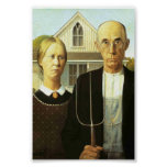 American Gothic (Perfect Quality) Print