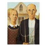 American Gothic Postcard