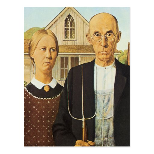 American Gothic Postcards