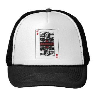 American Gothic Queen of diamonds Trucker Hat