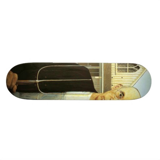 American Gothic Skate Board Deck