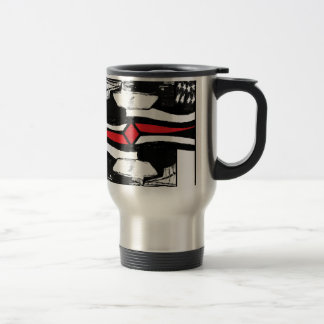 American Gothic-The King Of Diamonds. Travel Mug