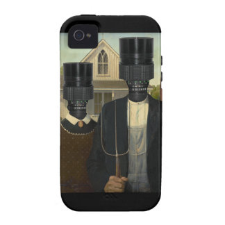 American Gothic with a twist Case-Mate iPhone 4 Case