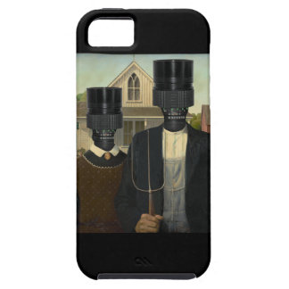 American Gothic with a twist iPhone 5 Case