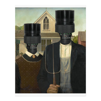 American Gothic with a twist Letterhead