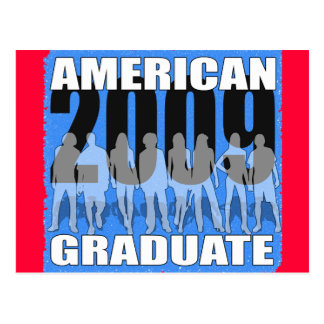 American Graduate 2009! Postcard