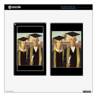 American Graduate Kindle Fire Decals