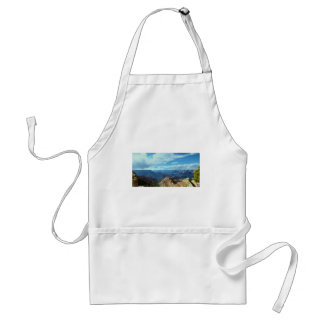 American Grand-canyon mountain ranges landscapes Adult Apron