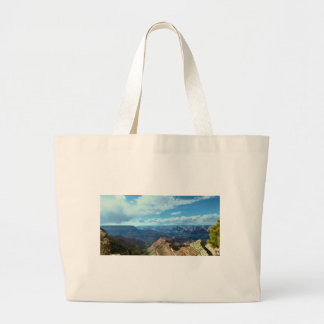 American Grand-canyon mountain ranges landscapes Large Tote Bag