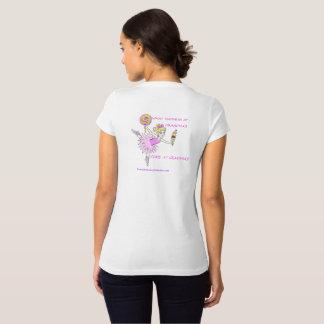 American Granny Ballerina Women's Tee-Shirt T-Shirt